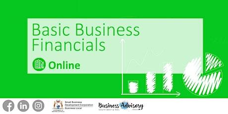 Basic business financials tickets