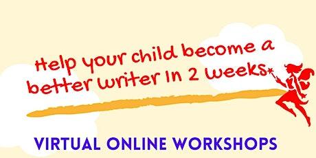 Live Imaginative Writing Workshop tickets