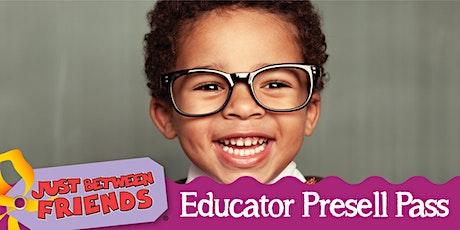 Educator/Daycare/Homeschool Fall 2020 tickets