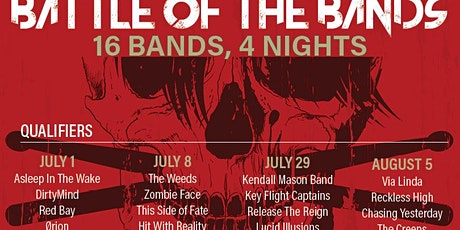 BATTLE OF THE BANDS:  VIA LINDA / RECKLESS HIGH /  CHASING YESTERDAY tickets