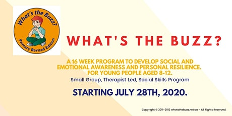 What's The Buzz? Social Skills Group - Ages 8-12 tickets