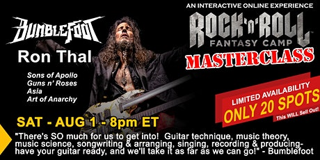 Guitar Masterclass with Bumblefoot! tickets