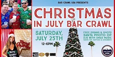 Christmas In July Bar Crawl tickets