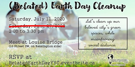 (Belated) Earth Day Cleanup tickets