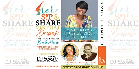 Sip & Share Virtual Brunch tickets