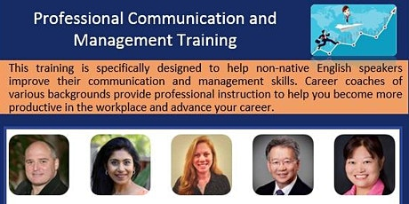 Professional Communication and Management Training tickets