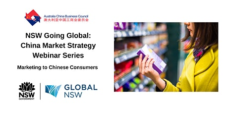 NSW Going Global - Marketing to Chinese consumers tickets