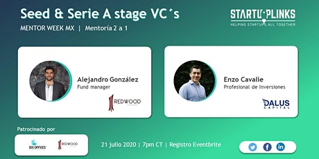 Seed & Serie A stage VC´s entradas