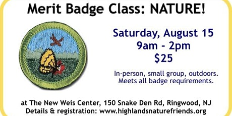 Nature Merit Badge! tickets