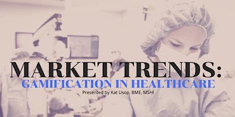 ONLINE MINDSHOP™| Current Market Trends in Gamifying Healthcare billets