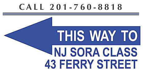 Sora Class  Aug 12-13 (Wed-Thur) Meadowlands/Lyndhurst NJ(First timers) tickets