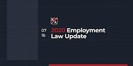 2020 Labor & Employment Law Update tickets