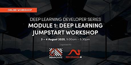 Deep Learning Jumpstart Workshop ( 3 –  4 August 2020) tickets