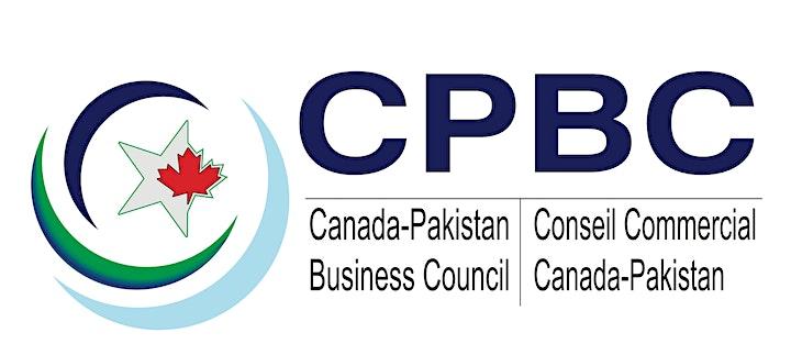 CPBC Webinar on promoting Bilateral Trade between Canada &  Pakistan image