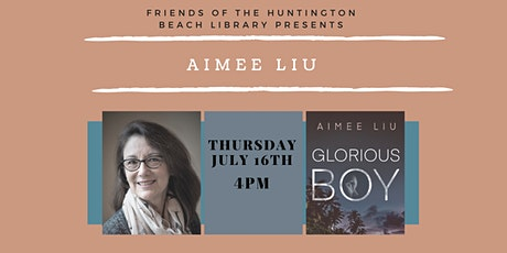 Zoom Author Event with Aimee Liu tickets