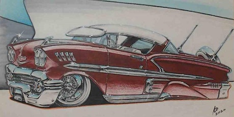 SUMMER ART CAMP: Drawing Cars (ages 13-18) tickets