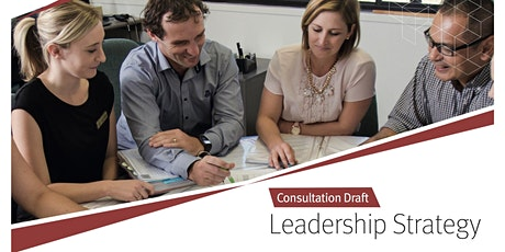 Draft Leadership Strategy feedback session - HODs, HOCs, HOSES & DPs tickets