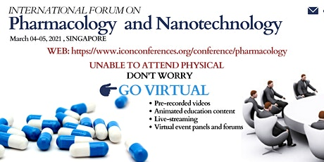 International Forum on Pharmacology and Nanotechnology tickets