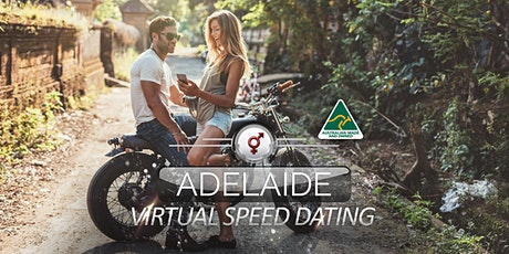 Adelaide Virtual Speed Dating | 34-46 | July tickets