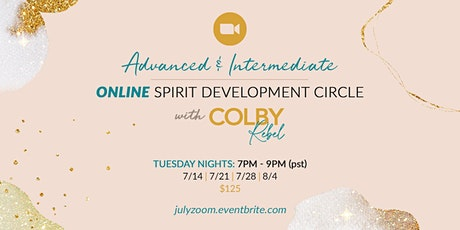 Advanced & Intermediate II Spirit Development Circle-Online tickets