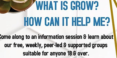 GROW information session tickets