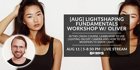 [AUG] Lightshaping Fundamental Workshop w/ Oliver Minnett tickets