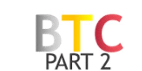 BTC part 2 (night class) July 14-15 tickets