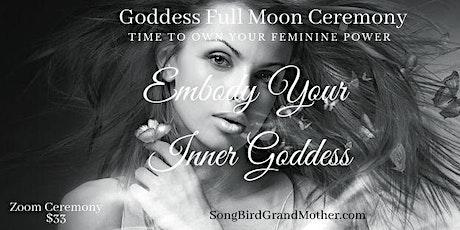 Goddess Sunday-Embodying Your Inner Goddess Ceremony tickets