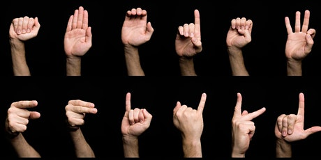 Introduction to NZ Sign Language tickets