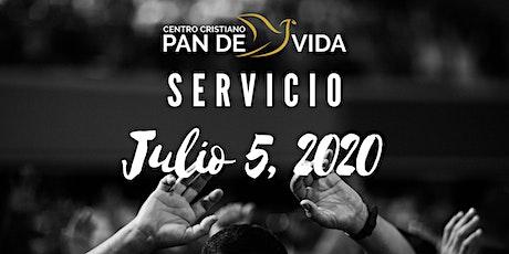 Servicio Domingo  5 de Julio 1:00 PM tickets