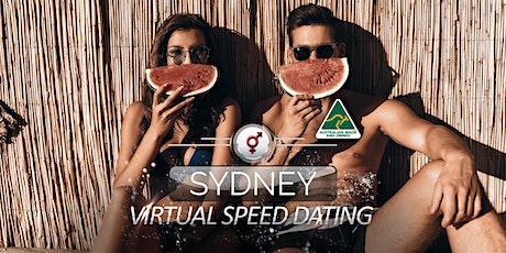 Sydney Virtual Speed Dating | 34-46 | August tickets