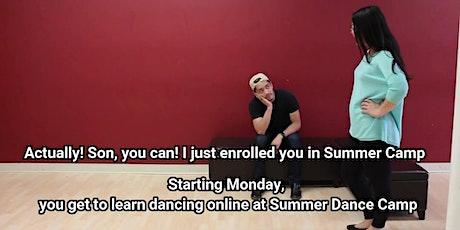Kid's Summer Dance Camp Online! tickets