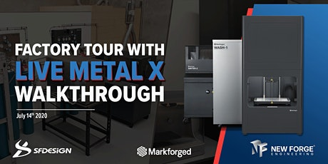 Factory Tour with Live Metal X Walkthrough tickets