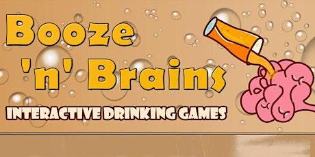 Booze n Brains Interactive Drinking Games UK tickets
