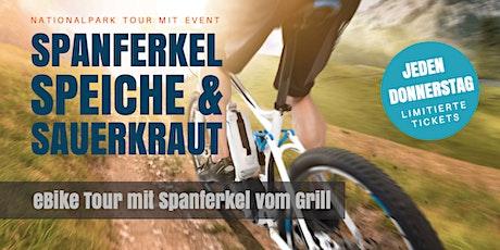 Jeden Donnerstag in Braunlage. eBike Erlebnis Tour mit Spanferkel Event Tickets
