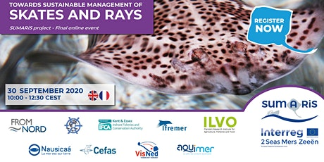 SUMARiS Final Event – Towards Sustainable Management of Skates and Rays tickets