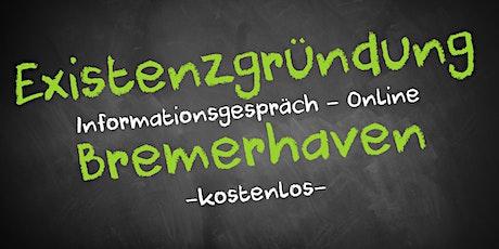 Existenzgründung Online kostenfrei - Infos - AVGS Bremerhaven Tickets