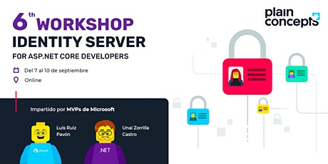 Workshop Identity Server for ASP.NET Core Developers tickets