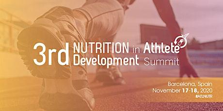 3rd Nutrition in Athlete Development Summit billets