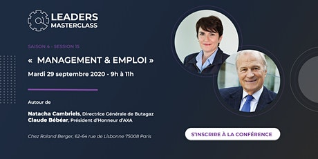 "Leaders Master Class - ""Management & Emploi"" billets"