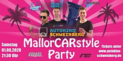 Autokino MallorCARstyle Party Schweinberg