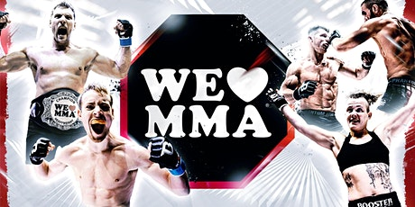 We love MMA •55•  16.10.2021 Saarlandhalle Saarbrücken Tickets