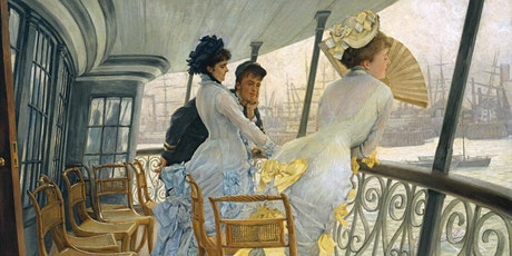 James Tissot Conference, between France and the UK: the ambiguous narrator biglietti