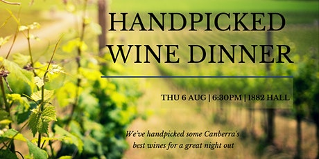 Handpicked Wine Dinner tickets