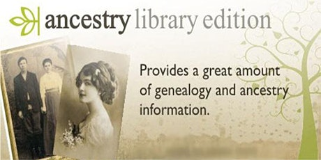 Introduction to Ancestry Library Edition tickets