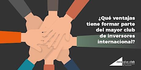 VENTAJAS DE FORMAR PARTE DEL MAYOR CLUB DE INVERSORES INTERNACIONAL entradas