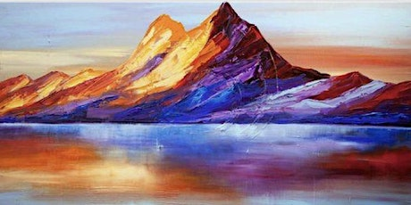 Majestic Mountains - Online Paint & Sip tickets