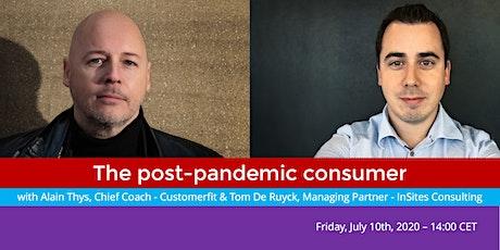The post-corona consumer ... with Tom De Ruyck tickets