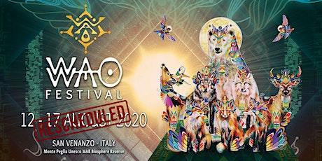 WAO Festival 2020 biglietti