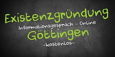 Existenzgründung Online kostenfrei - Infos - AVGS Göttingen Tickets